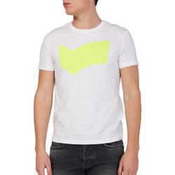 Textil Muži Trička s krátkým rukávem Gas 542973 Bílý
