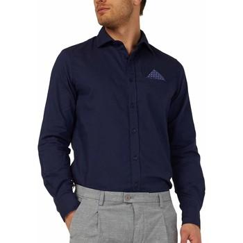 Textil Muži Košile s dlouhymi rukávy Gas 151131 Modrý