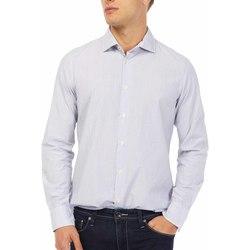 Textil Muži Košile s dlouhymi rukávy Gas 151144 Modrý