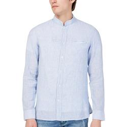 Textil Muži Košile s dlouhymi rukávy Gas 151228 Modrý
