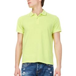 Textil Muži Polo s krátkými rukávy Gas 310174 Žlutá