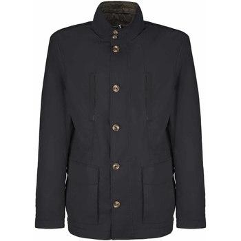 Textil Muži Kabáty Geox M8221G TC112 Modrý