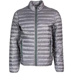 Textil Muži Prošívané bundy Geox M8225A T2462 Šedá