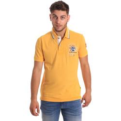 Textil Muži Polo s krátkými rukávy Napapijri N0YHDW Žlutá