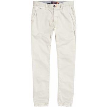 Textil Muži Mrkváče Superdry M70001TQF2 Bílý