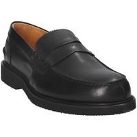 Boty Muži Mokasíny Exton 9102 Černá