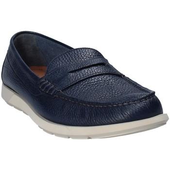 Boty Muži Mokasíny Maritan G 460390 Modrý