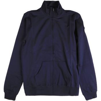 Textil Muži Mikiny Key Up 2F04E 0001 Modrý