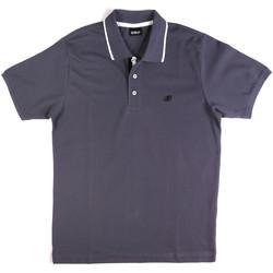 Textil Muži Polo s krátkými rukávy Key Up 2Q711 0001 Modrý