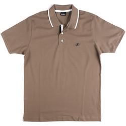 Textil Muži Polo s krátkými rukávy Key Up 2Q711 0001 Šedá