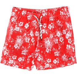 Textil Muži Plavky / Kraťasy Key Up 2M09X 0001 Červené