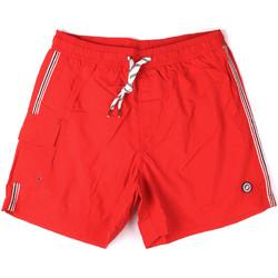Textil Muži Plavky / Kraťasy Key Up 2H16X 0001 Červené