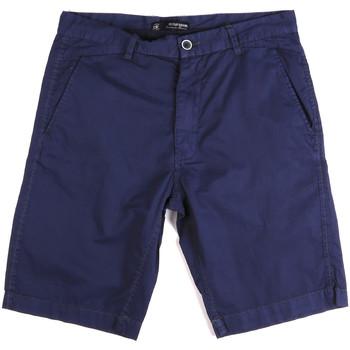 Textil Muži Kraťasy / Bermudy Key Up 2A01P 0001 Modrý