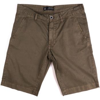 Textil Muži Kraťasy / Bermudy Key Up 2A01P 0001 Hnědý
