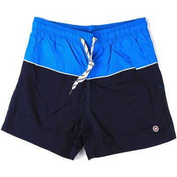 Textil Muži Plavky / Kraťasy Key Up 2H19X 0001 Modrý
