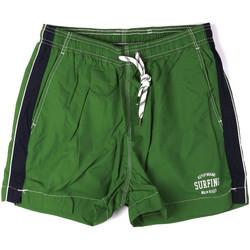Textil Muži Plavky / Kraťasy Key Up 2H17X 0001 Zelený