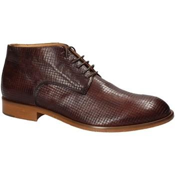 Boty Muži Kotníkové boty Exton 5355 Hnědý