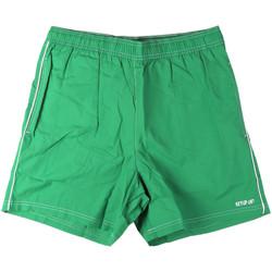 Textil Muži Plavky / Kraťasy Key Up 22X21 0001 Zelený