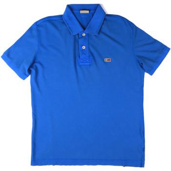 Textil Muži Polo s krátkými rukávy Napapijri N0YHDX Modrý
