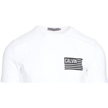 Textil Muži Trička s krátkým rukávem Calvin Klein Jeans J30J306891 Bílý