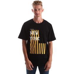 Textil Muži Trička s krátkým rukávem Calvin Klein Jeans J30J306895 Černá