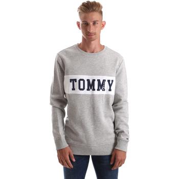 Textil Muži Mikiny Tommy Hilfiger DM0DM05257 Šedá