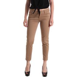 Textil Ženy Kapsáčové kalhoty Gaudi 911BD25011 Hnědý