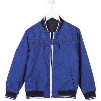 Textil Děti Bundy Losan 813-2002AA Modrý