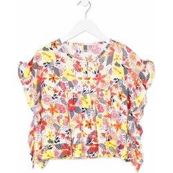 Textil Dívčí Košile / Halenky Losan 814-3003AB Oranžový
