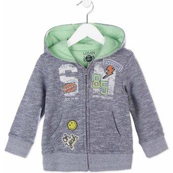 Textil Děti Mikiny Losan 815-6002AC Modrý