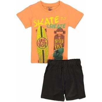 Textil Chlapecké Set Losan 815-8046AC Oranžový