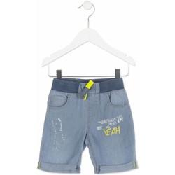 Textil Chlapecké Kraťasy / Bermudy Losan 815-9002AC Modrý