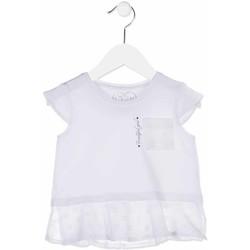 Textil Dívčí Košile / Halenky Losan 816-1016AD Bílý