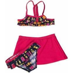 Textil Dívčí Bikini Losan 816-4011AD Růžový