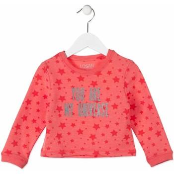 Textil Děti Mikiny Losan 816-6023AD Růžový