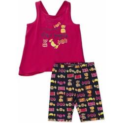 Textil Dívčí Set Losan 816-8044AD Růžový