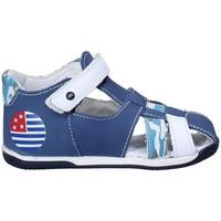 Boty Děti Sandály Melania ME0802A8E.D Modrý