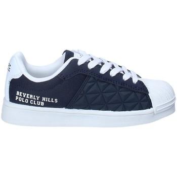 Boty Chlapecké Nízké tenisky Beverly Hills Polo Club BH-2023 Modrý