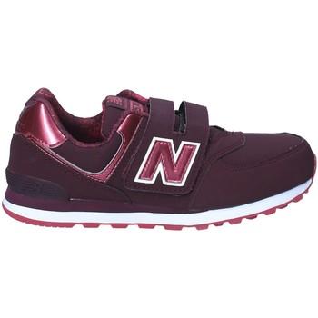 Boty Děti Nízké tenisky New Balance NBKV574F2Y Červené