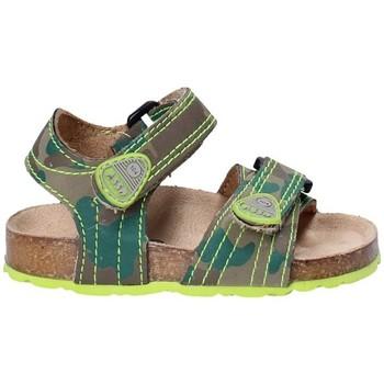 Boty Děti Sandály Asso 64205 Hnědý