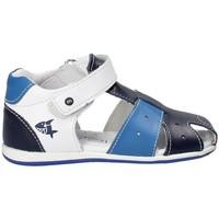 Boty Děti Sandály Melania ME0811A8E.A Modrý