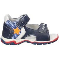 Boty Děti Sandály Melania ME8169B8E.A Modrý