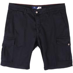 Textil Muži Kraťasy / Bermudy Sei3sei PZV130 81408 Modrý