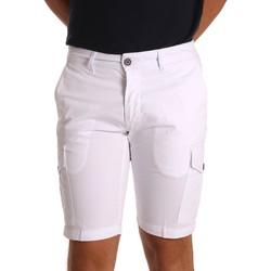 Textil Muži Kraťasy / Bermudy Sei3sei PZV130 81408 Bílý