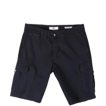 Textil Muži Kraťasy / Bermudy Sei3sei PZV130 8157 Modrý