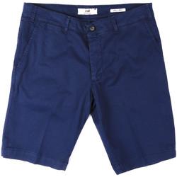 Textil Muži Kraťasy / Bermudy Sei3sei PZV132 8136 Modrý