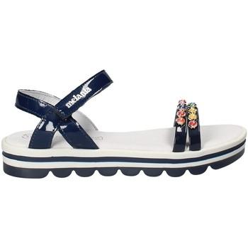 Boty Dívčí Sandály Melania ME6162F8E.A Modrý