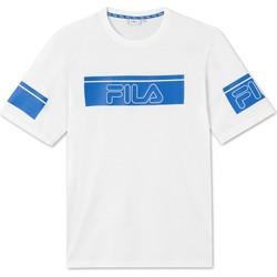 Textil Muži Trička s krátkým rukávem Fila 683085 Bílý