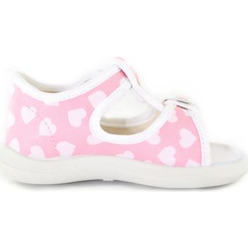 Boty Dívčí Sandály Naturino 1500757 10 Růžový