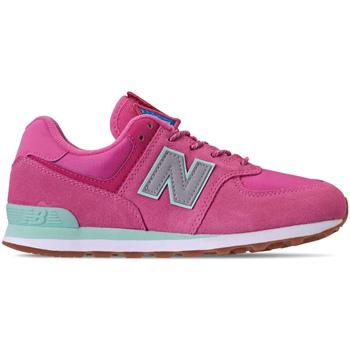Boty Dívčí Nízké tenisky New Balance NBGC574PAF Růžový